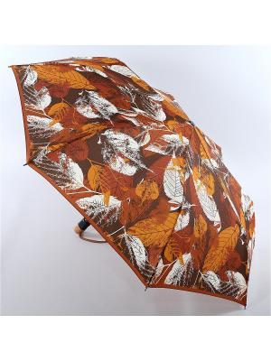 Зонт Airton. Цвет: коричневый, оранжевый