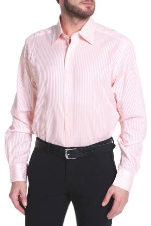 Рубашка Christian Lacroix. Цвет: розовый, желтая полоска