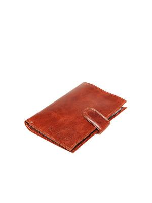 Бумажник водителя Forte. Цвет: рыжий