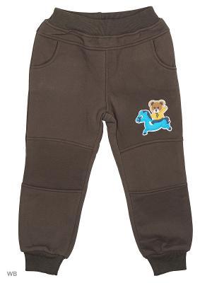 Брюки Sago Kids i Ant Domain. Цвет: серый, коричневый