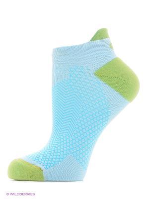 Носки COOLING ST SOCK ASICS. Цвет: голубой, белый, зеленый
