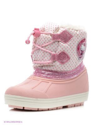 Сапоги Hello Kitty. Цвет: розовый