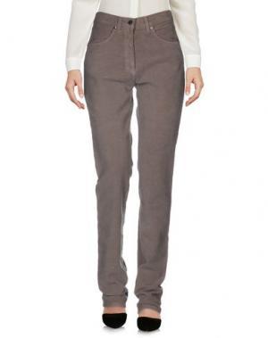 Повседневные брюки JEANS & POLO. Цвет: серый