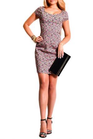 Платье FRANCESCA LUCINI. Цвет: сиреневый