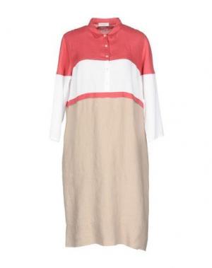 Платье до колена ROSSO35. Цвет: красный