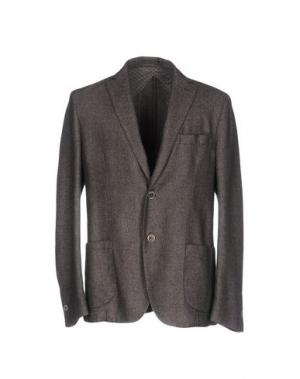 Пиджак B SETTECENTO. Цвет: свинцово-серый