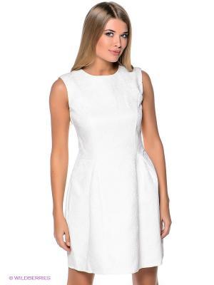 Платье People. Цвет: белый