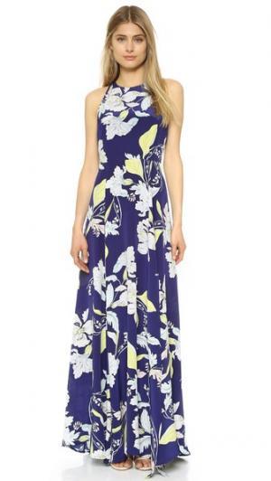 Платье Chelsea Yumi Kim. Цвет: восточный темно-синий сад