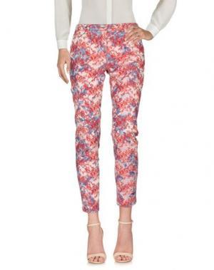 Повседневные брюки SHAFT. Цвет: красный