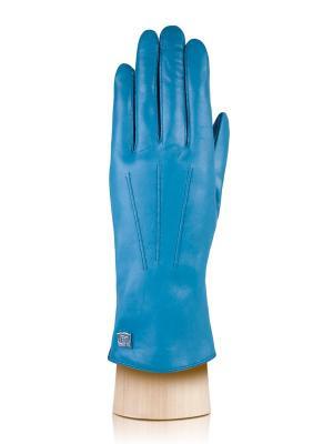 Перчатки Eleganzza. Цвет: голубой