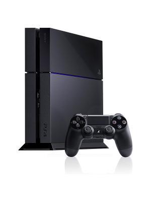Игровая консоль Sony PlayStation 4 PS719859130 черный. Цвет: черный