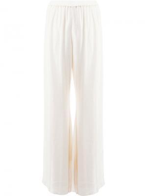 Широкие брюки Alexis. Цвет: белый