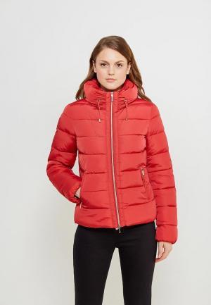 Куртка утепленная Geox. Цвет: красный
