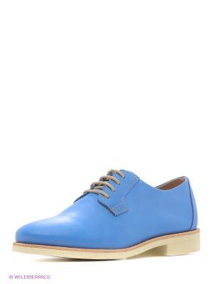 Ботинки TBS. Цвет: голубой