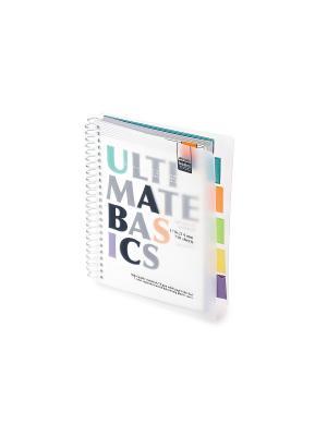 Бизнес-блокнот-2 а5, 150 л. гр., разделители, пластиковая обл. ultimate basics, белый Альт. Цвет: белый