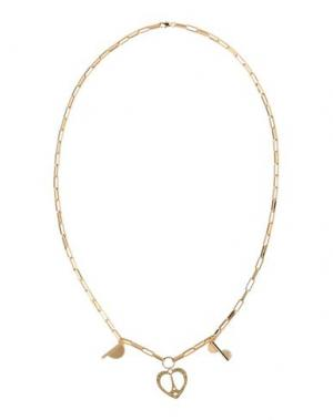 Ожерелье MARIA FRANCESCA PEPE. Цвет: золотистый