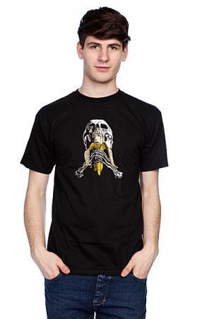Футболка  Skull And Banana Reissue Black Blind. Цвет: черный