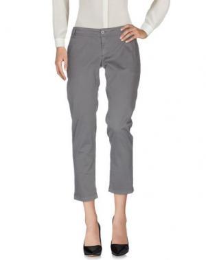 Повседневные брюки ATELIER FIXDESIGN. Цвет: свинцово-серый