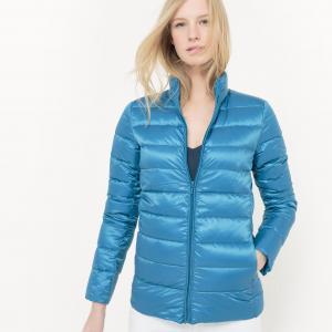 Куртка легкая с натуральным наполнителем R essentiel. Цвет: оранжевый,синий морской,синий океан,черный