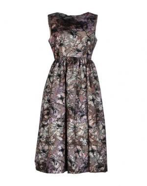 Платье до колена NORA BARTH. Цвет: сиреневый