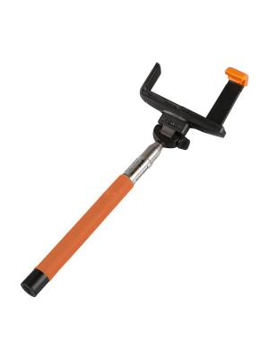 Монопод LP MPD-2 с Bluetooth кнопкой съемки для телефонов (1,2 м/оранжевый) Liberty Project. Цвет: оранжевый