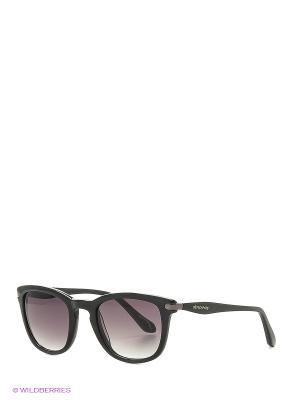 Солнцезащитные очки AN 739 01 Vivienne Westwood. Цвет: черный