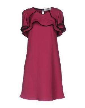 Короткое платье LALTRAMODA. Цвет: пурпурный