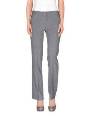 Повседневные брюки ROMEO GIGLI. Цвет: серый