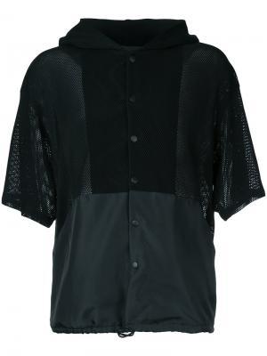 Куртка с короткими рукавами Yoshio Kubo. Цвет: чёрный