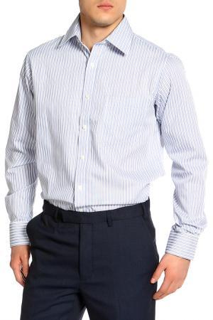 Верхняя сорочка Marks & Spencer. Цвет: светло-голубой