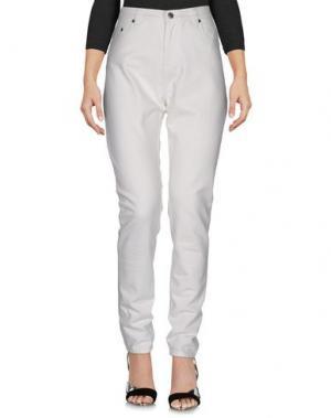Джинсовые брюки KSUBI. Цвет: белый