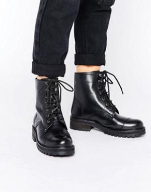 Park Lane Массивные ботинки на шнуровке. Цвет: черный