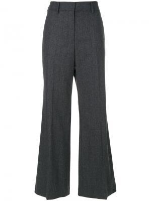 Расклешенные брюки Ter Et Bantine. Цвет: серый