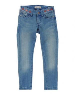 Джинсовые брюки SCOTCH R'BELLE. Цвет: синий