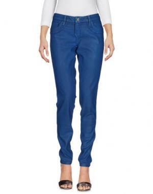 Джинсовые брюки BLEULAB. Цвет: пастельно-синий