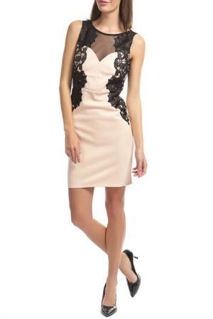 Платье LIPSY. Цвет: nude