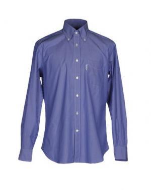 Pубашка FAÇONNABLE. Цвет: лазурный