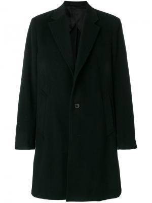 Однобортное пальто Our Legacy. Цвет: чёрный