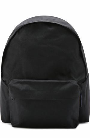 Текстильный рюкзак Comme des Garcons. Цвет: черный