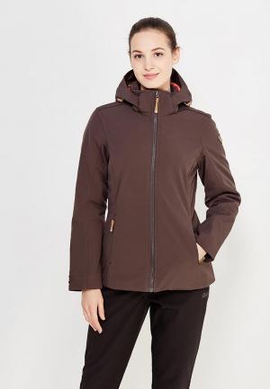 Куртка утепленная Icepeak. Цвет: коричневый