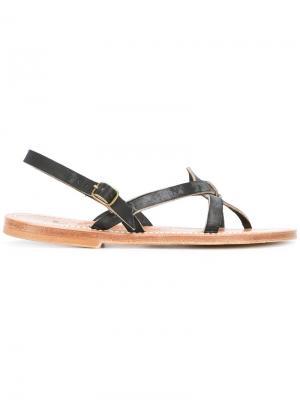 Orion sandals K. Jacques. Цвет: чёрный