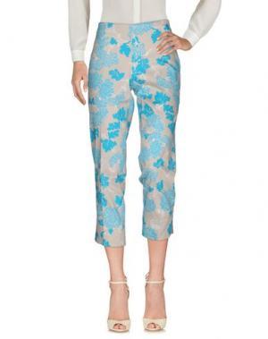 Повседневные брюки ANNECLAIRE. Цвет: лазурный