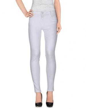 Джинсовые брюки BLEULAB. Цвет: белый