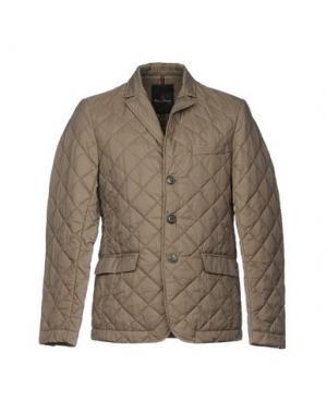 Куртка CONTE OF FLORENCE. Цвет: голубиный серый