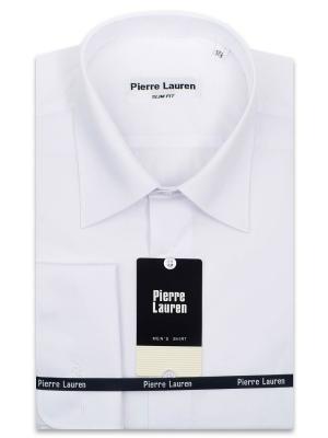 Рубашка Pierre Lauren. Цвет: белый