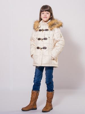 Куртка SAIMA. Цвет: молочный