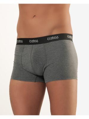 Мужские трусы Oztas underwear. Цвет: темно-серый