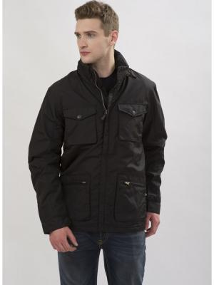 Куртка мужская lawiggi. Цвет: черный