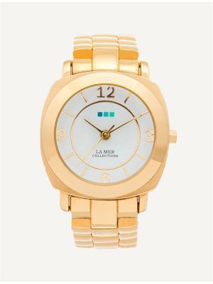Часы La Mer Collections Mini Odyssey Link Gold. Цвет: золотистый