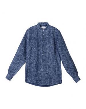 Pубашка RICHARD JAMES. Цвет: синий
